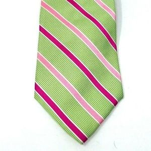 Brooks Brothers Makers and Merchants TIE Green Pin